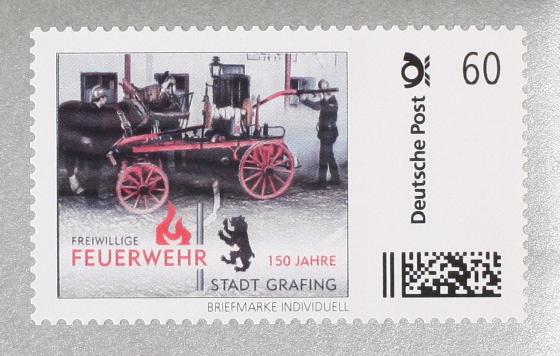 Deutsche Post Feuerwehr Stadt Grafing – (c)2014 Thomas Hümmler – München · Grafing