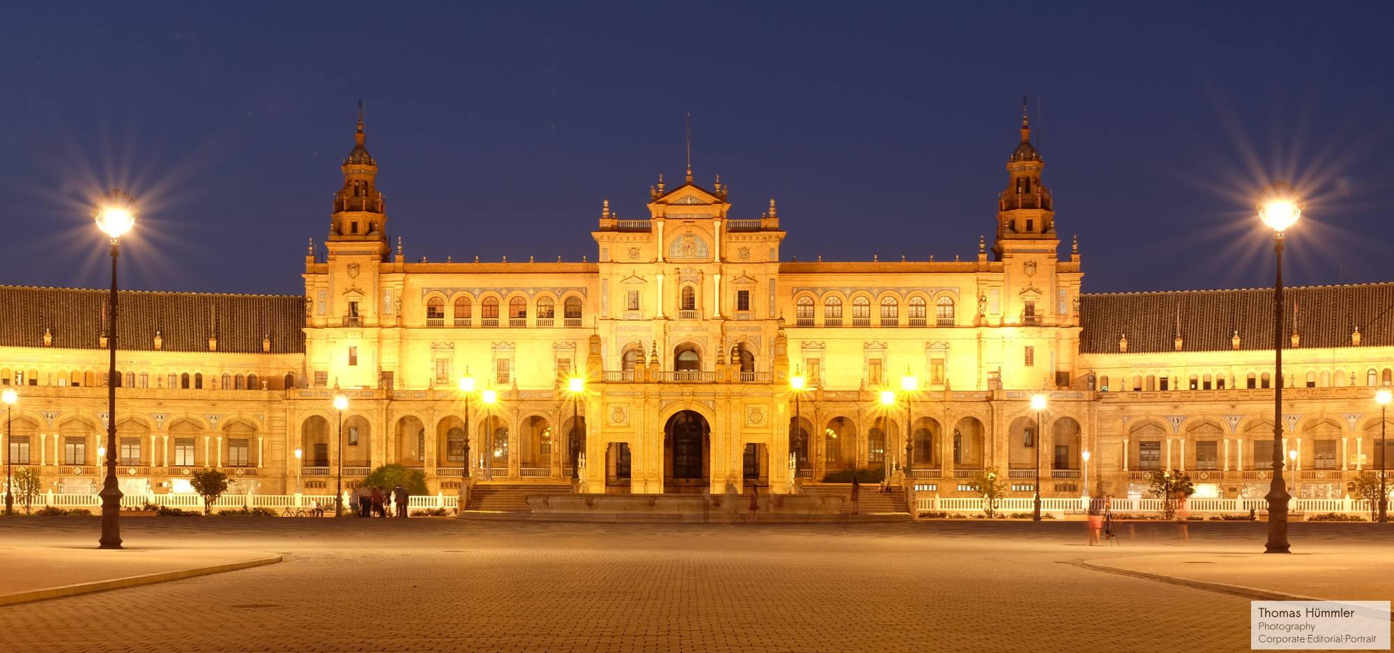 Plaza de España, Sevilla (c)2014 Thomas Hümmler – München · Grafing