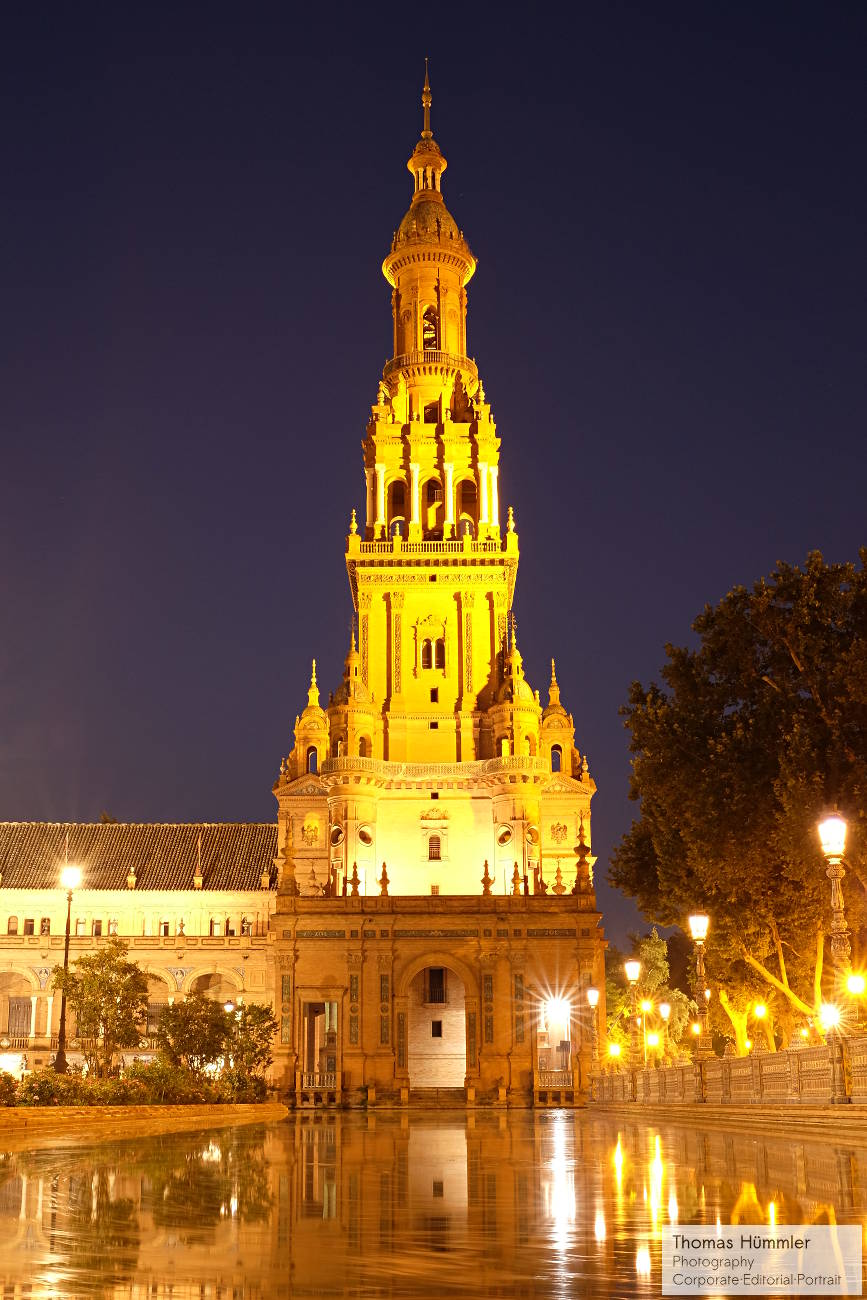 Plaza de Espana 2, Sevilla - (c)2014 Thomas Hümmler - München - Grafing