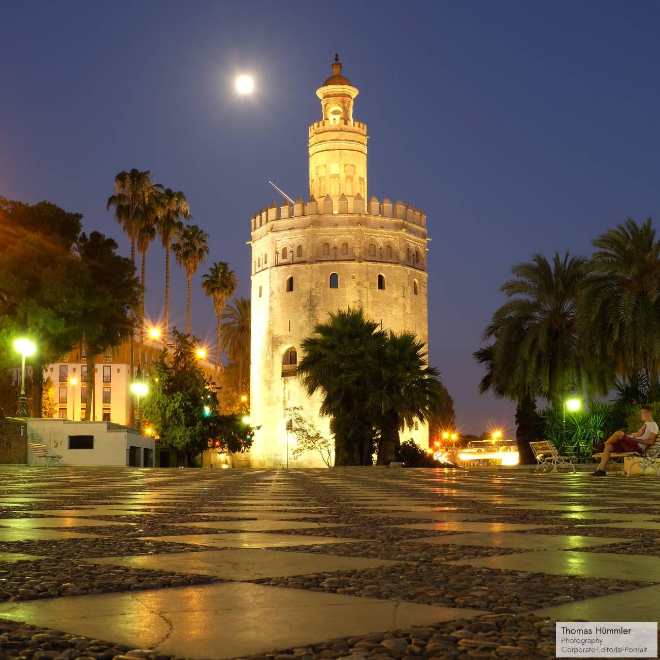 Torre del Oro, Sevilla (c)2014 Thomas Hümmler – München · Grafing