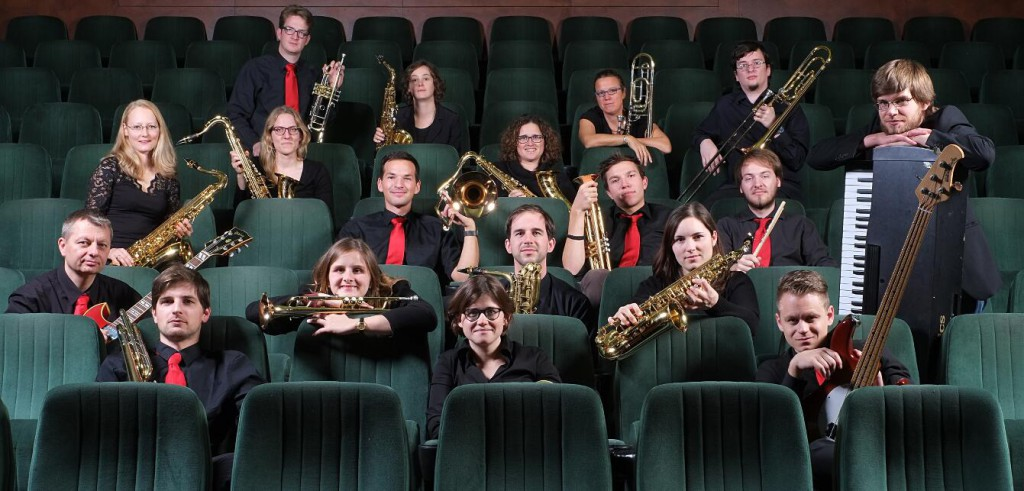Big-Band-Foto der Swinging G´s im Capitol-Filmtheater in Grafing
