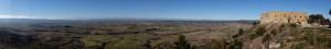 Panorama in der Provinz Aragon in Spanien
