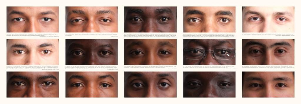 """""""Verlorene Jugend auf der Suche nach Zukunft"""", Teil 2 von 3, Fotografie auf Leinwand (150 cm x 50 cm), (c)2015 by Thomas Hümmler"""