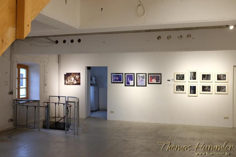EBE-Jazz seen: Neun Fotografen haben im Studio an der Rampe zwei Wochen lang ausgestellt - (c)2015 Thomas Hümmler – München · Grafing