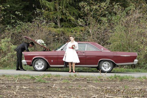 die coolsten Hochzeitsfotos mit Sabrina & Michael