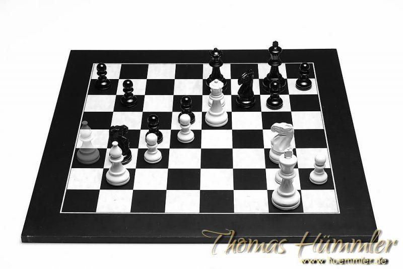 the next move: aus der Partie Botvinnik – Capablanca, Rotterdam 1938 (c)2016 Thomas Hümmler – München · Grafing