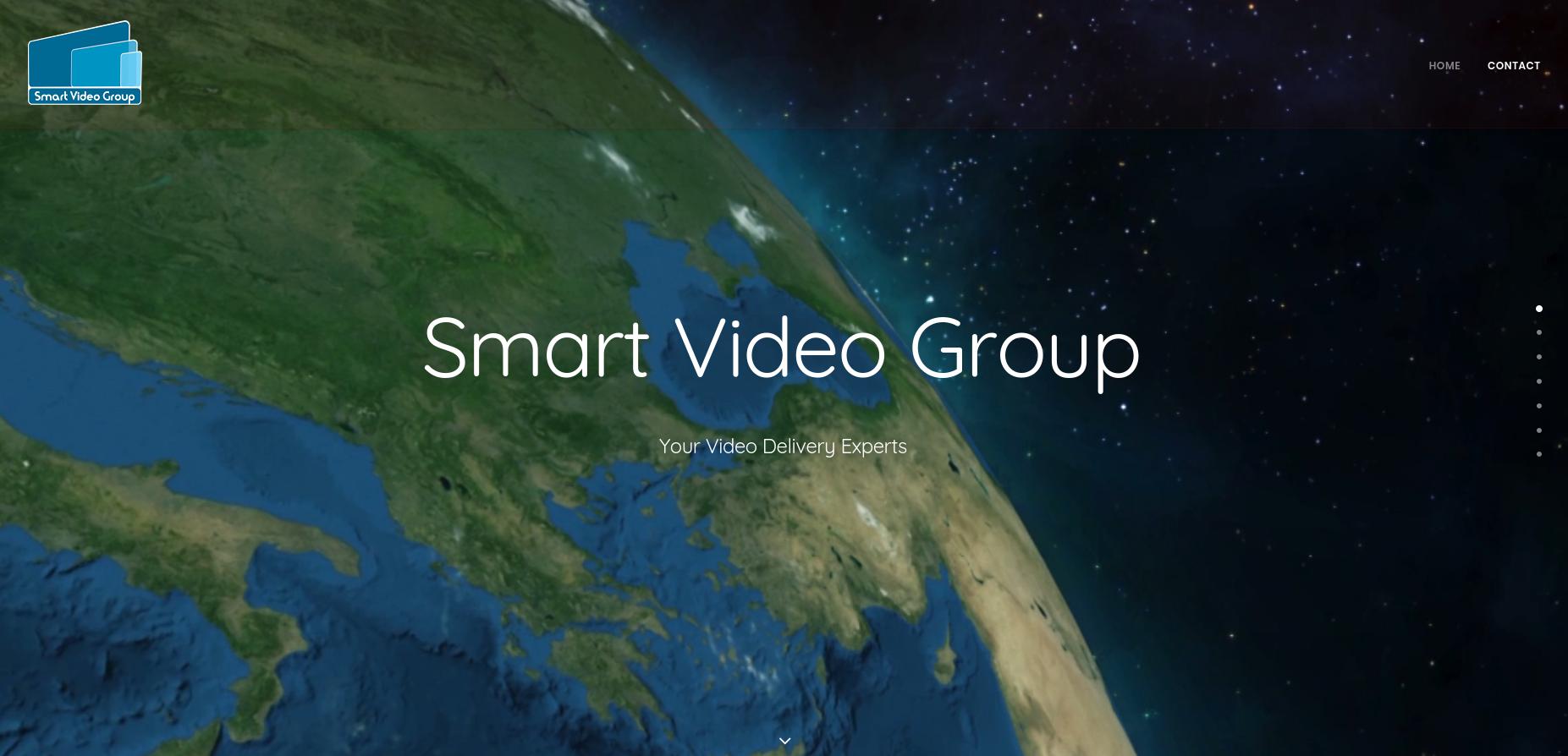 Web-Design für Smartvideogroup